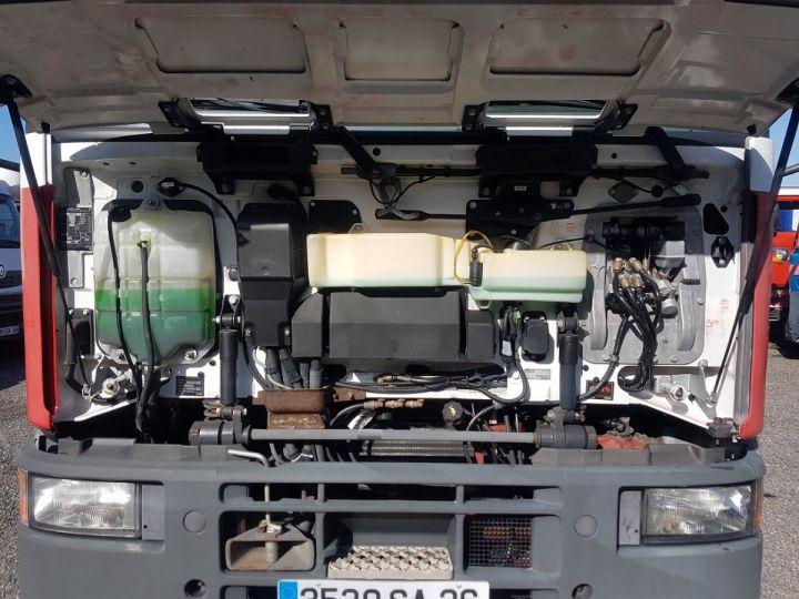 Camion porteur Iveco EuroCargo Chassis cabine 180 E 28 - Boite de vitesse en panne ROUGE - BLANC Occasion - 8