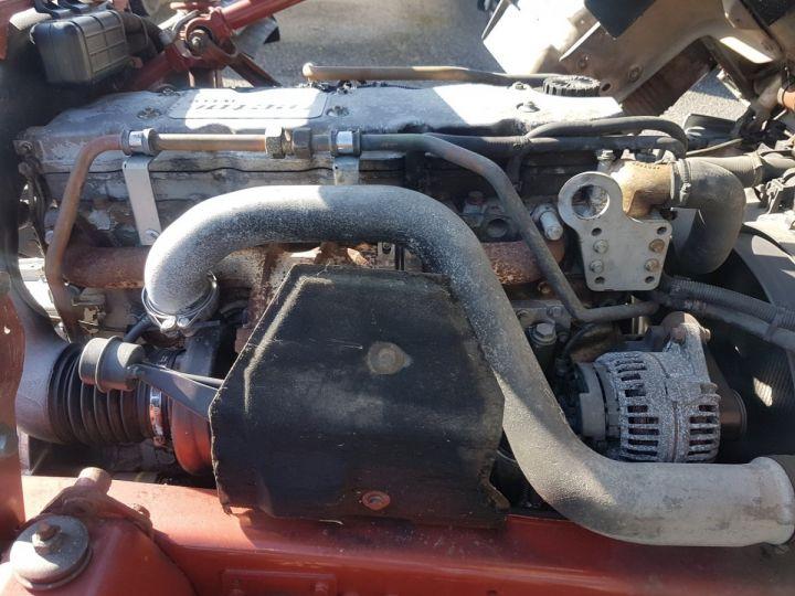 Camion porteur Iveco EuroCargo Chassis cabine 180 E 28 - Boite de vitesse en panne ROUGE - BLANC - 10