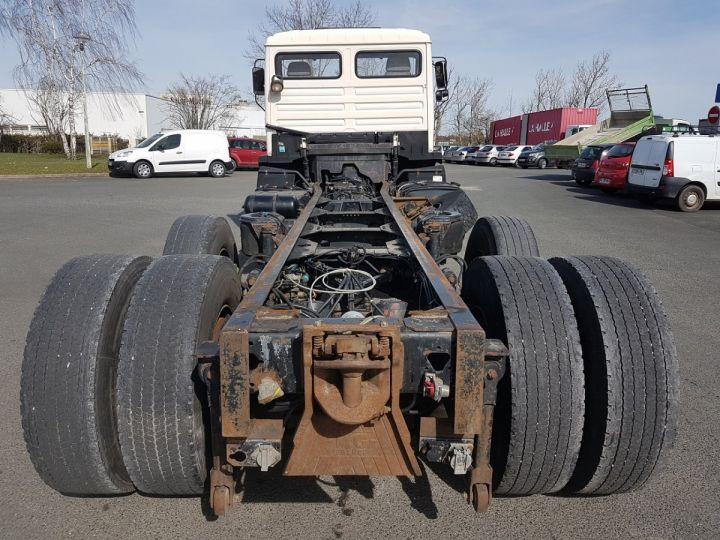 Camion porteur Man 26-322 Chassis cabine 6x2 - Moteur à réviser BLANC Occasion - 5