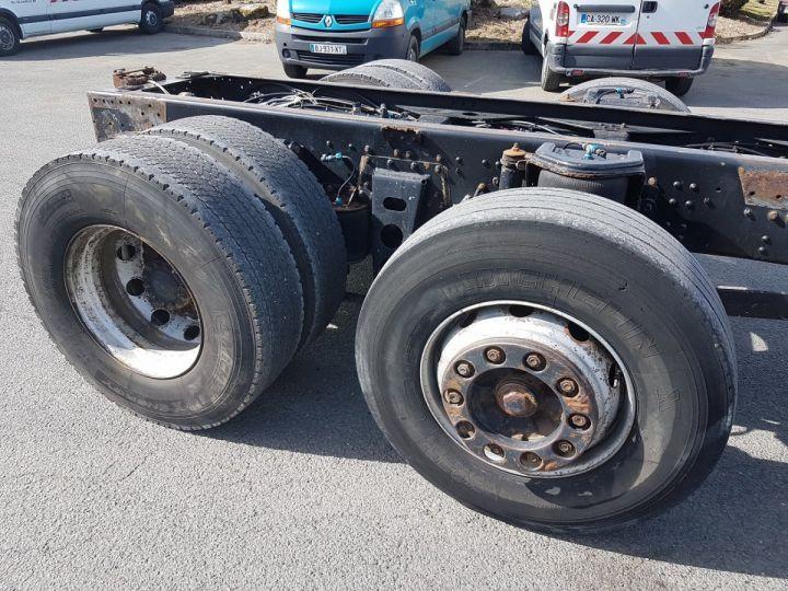 Camion porteur Man 26-322 Chassis cabine 6x2 - Moteur à réviser BLANC Occasion - 8