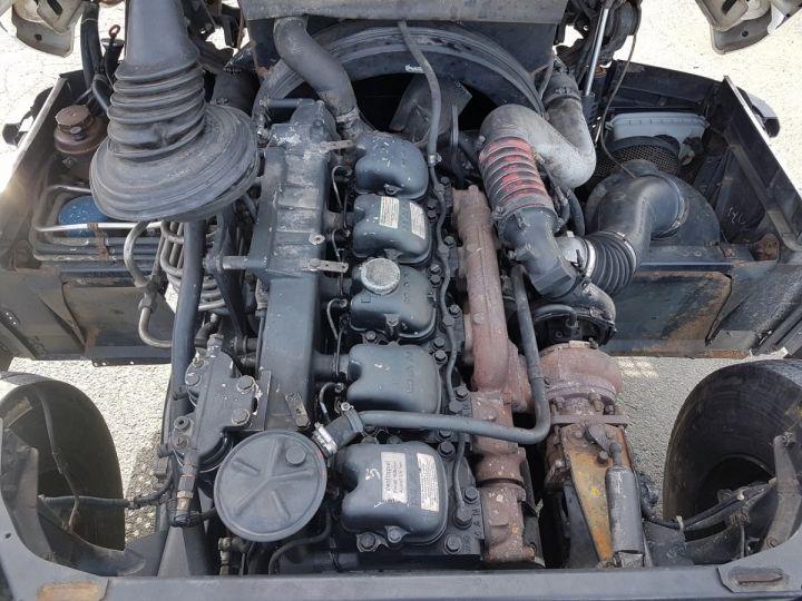 Camion porteur Man 26-322 Chassis cabine 6x2 - Moteur à réviser BLANC Occasion - 10