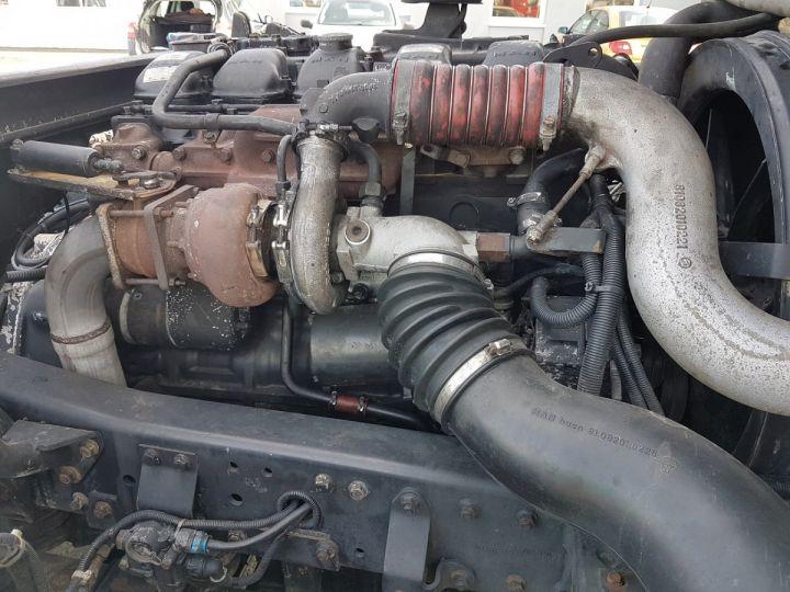 Camion porteur Man 26-322 Chassis cabine 6x2 - Moteur à réviser BLANC Occasion - 12