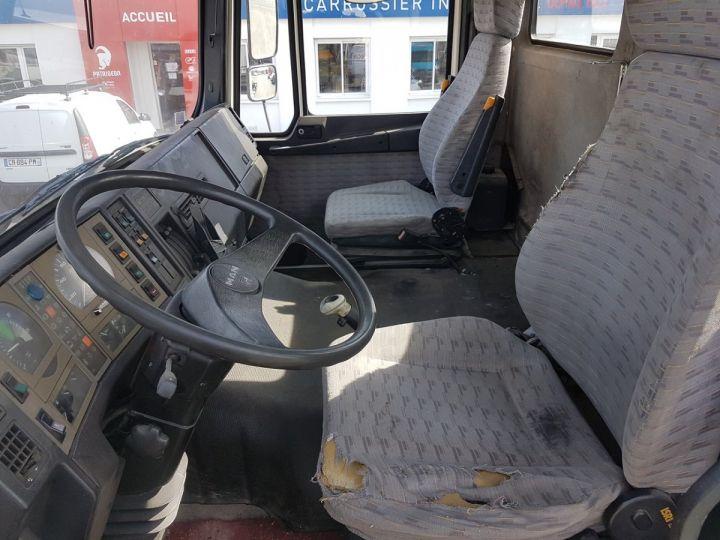 Camion porteur Man 26-322 Chassis cabine 6x2 - Moteur à réviser BLANC Occasion - 15