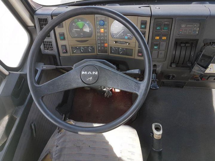 Camion porteur Man 26-322 Chassis cabine 6x2 - Moteur à réviser BLANC Occasion - 17