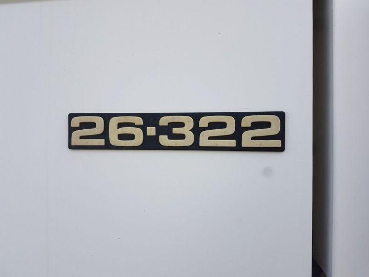 Camion porteur Man 26-322 Chassis cabine 6x2 - Moteur à réviser BLANC Occasion - 19