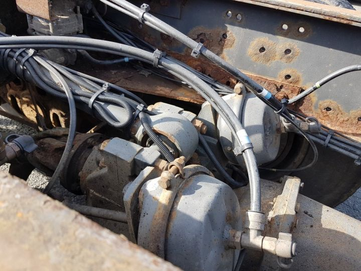 Camion porteur Renault Kerax Chassis cabine 420dci.32 8x4 CHASSIS 8 m. BLANC - 14