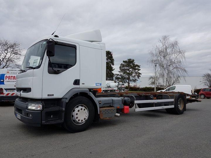 Camion porteur Renault Premium Chassis cabine 270dci.18D BLANC Occasion - 1