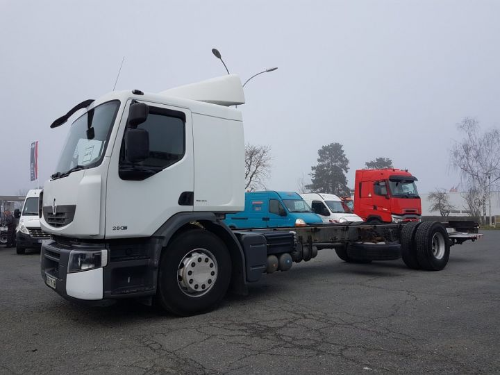 Camion porteur Renault Premium Chassis cabine 280dxi.19 INTARDER BLANC Occasion - 1