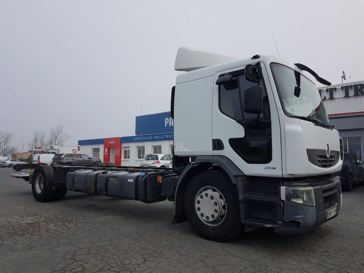 Camion porteur Renault Premium Chassis cabine 280dxi.19 INTARDER BLANC - 6