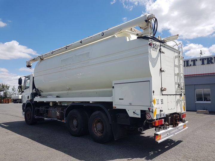 Camion porteur Daf CF85 Citerne alimentaire 460 6x4 BLANC - 4