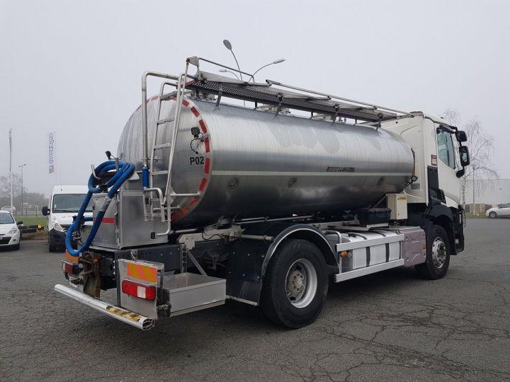 Camion porteur Renault C Citerne alimentaire 430.19 -  BLANC et GRIS - 2