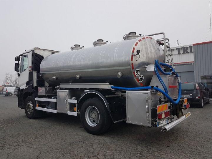 Camion porteur Renault C Citerne alimentaire 430.19 -  BLANC et GRIS - 4