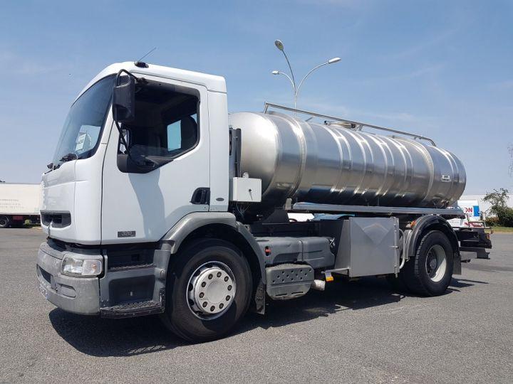 Camion porteur Renault Premium Citerne alimentaire 320dci.19D - 11000 litres INOX BLANC - GRIS Occasion - 1