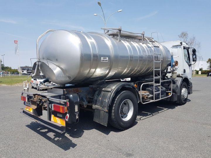 Camion porteur Renault Premium Citerne alimentaire 320dci.19D - 11000 litres INOX BLANC - GRIS - 2