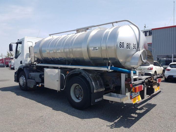 Camion porteur Renault Premium Citerne alimentaire 320dci.19D - 11000 litres INOX BLANC - GRIS Occasion - 4