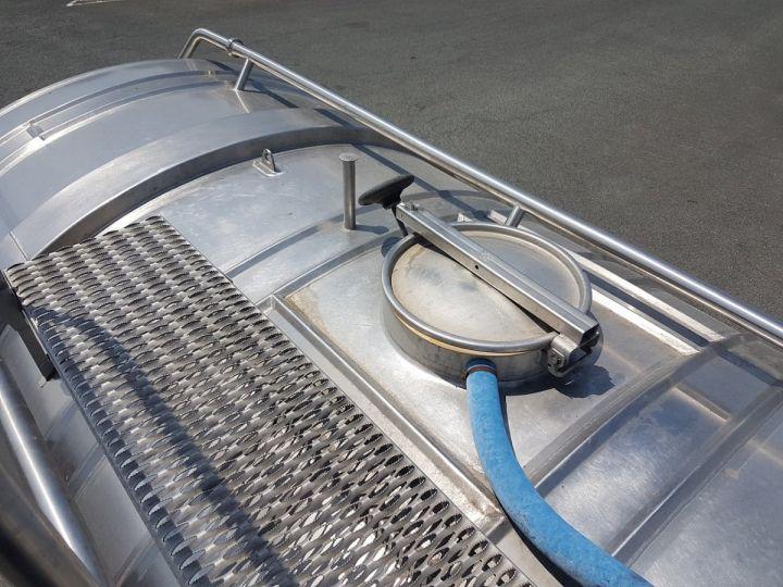 Camion porteur Renault Premium Citerne alimentaire 320dci.19D - 11000 litres INOX BLANC - GRIS Occasion - 5