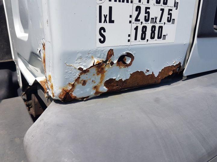 Camion porteur Renault Premium Citerne alimentaire 320dci.19D - 11000 litres INOX BLANC - GRIS Occasion - 15