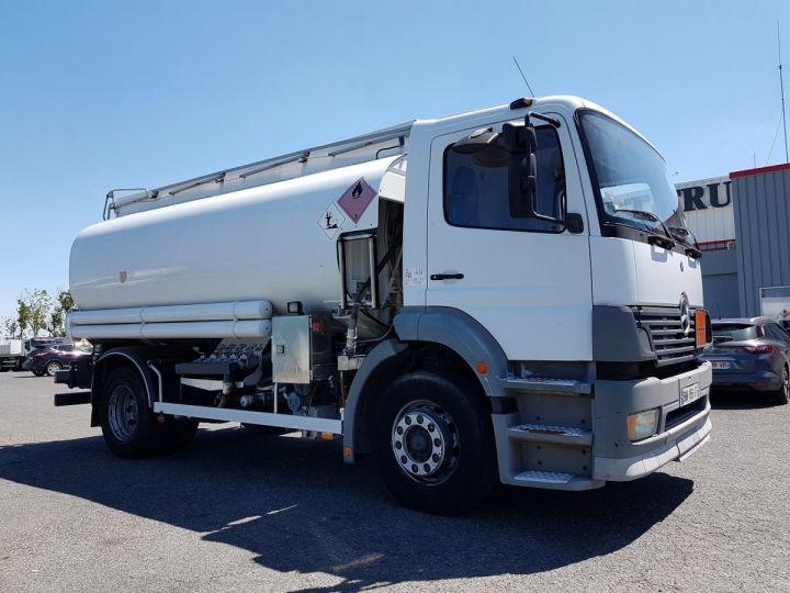 Camion porteur Mercedes Atego Citerne hydrocarbures 1823 N - Citerne FUEL 13500 litres BLANC - 3