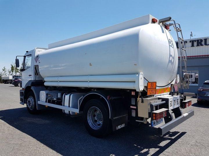 Camion porteur Mercedes Atego Citerne hydrocarbures 1823 N - Citerne FUEL 13500 litres BLANC - 4