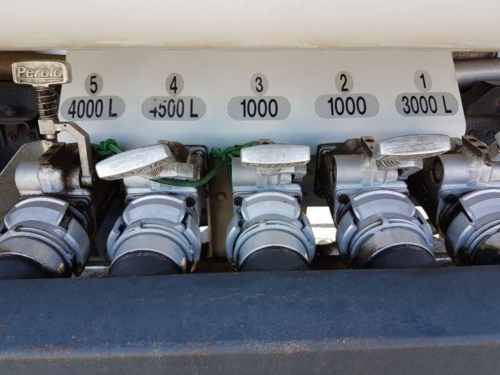 Camion porteur Mercedes Atego Citerne hydrocarbures 1823 N - Citerne FUEL 13500 litres BLANC - 8
