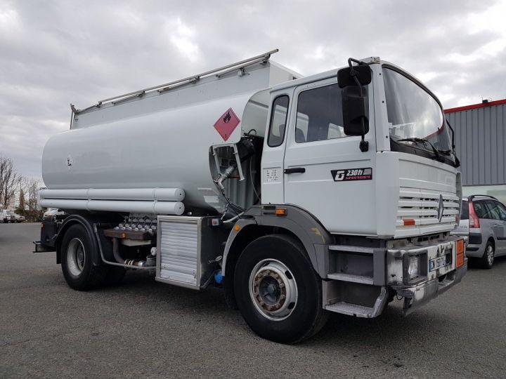 Camion porteur Renault Manager Citerne hydrocarbures G230ti.19 - 14000 litres BLANC - 3