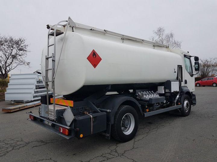 Camion porteur Renault Midlum Citerne hydrocarbures 210.16 BLANC Occasion - 2