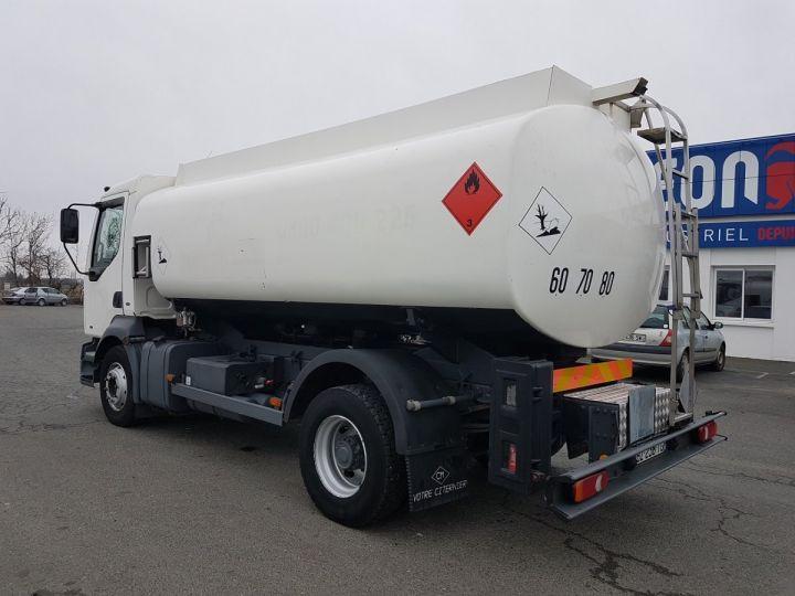 Camion porteur Renault Midlum Citerne hydrocarbures 210.16 BLANC Occasion - 4