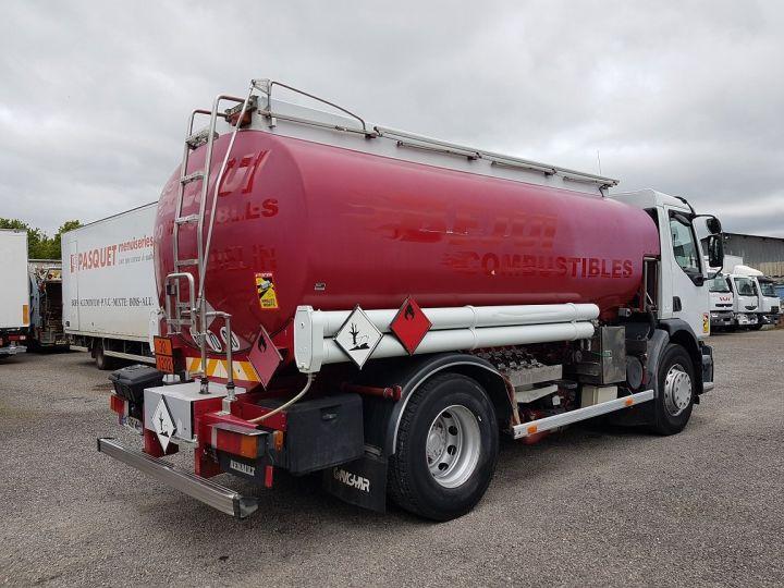 Camion porteur Renault Premium Citerne hydrocarbures 300.19D - MAGYAR 13500 litres BLANC ET ROUGE Occasion - 2