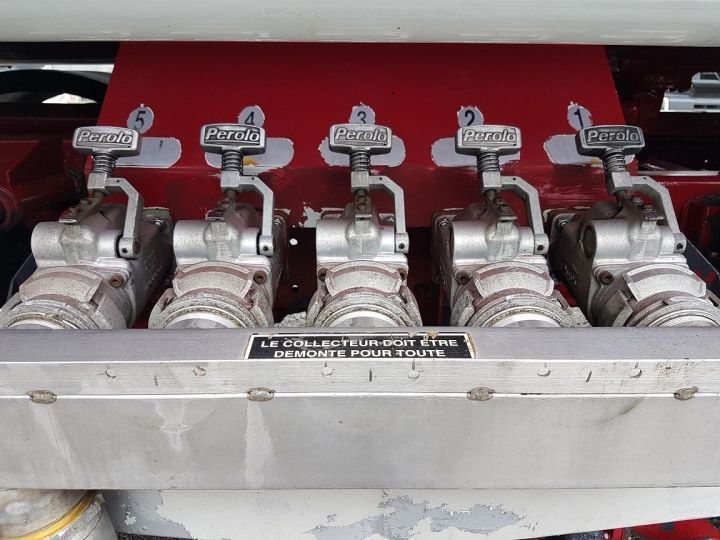 Camion porteur Renault Premium Citerne hydrocarbures 300.19D - MAGYAR 13500 litres BLANC ET ROUGE Occasion - 6