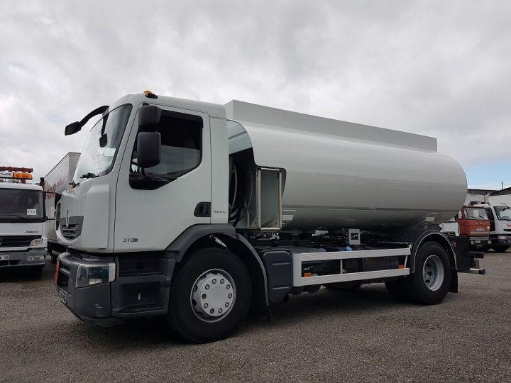 Camion porteur Renault Premium Citerne hydrocarbures 310dxi.19 - 13500 litres BLANC - 1