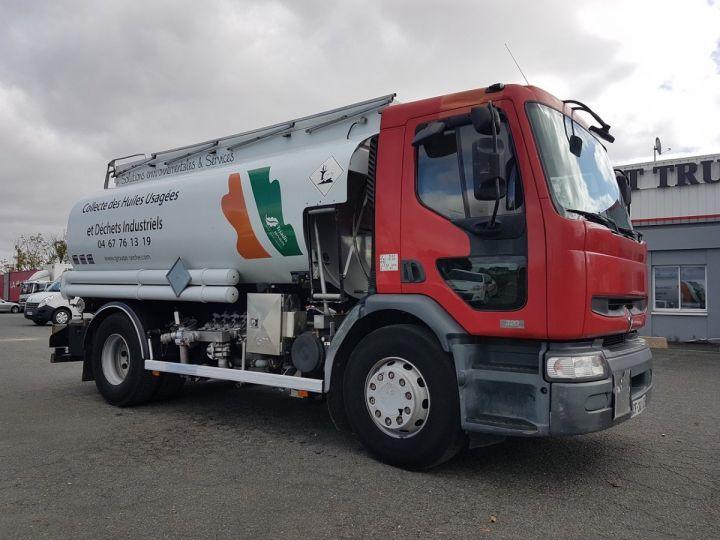 Camion porteur Renault Premium Citerne hydrocarbures 320dci.19D - CITERNE HUILE BLANC et ROUGE Occasion - 3
