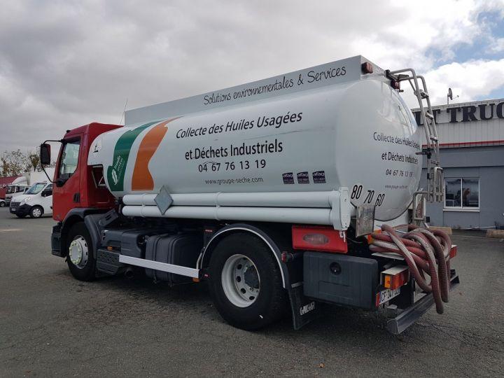 Camion porteur Renault Premium Citerne hydrocarbures 320dci.19D - CITERNE HUILE BLANC et ROUGE Occasion - 4