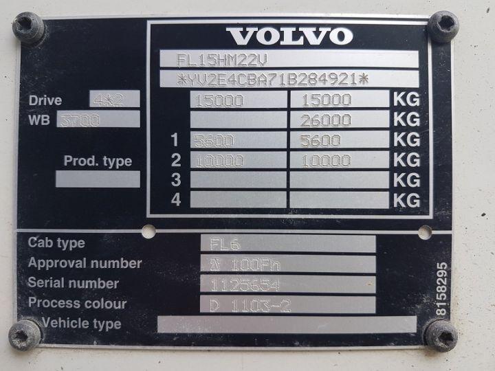 Camion porteur Volvo FL Citerne hydrocarbures 220.15 ROUGE - 19
