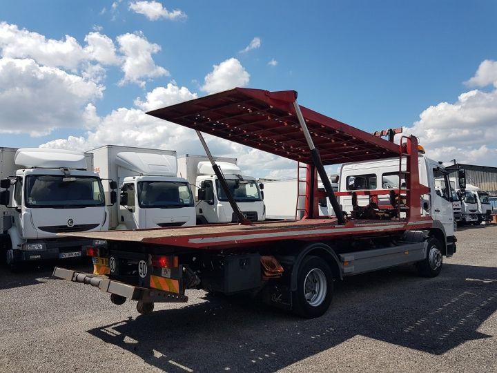 Camion porteur Mercedes Atego Dépanneuse 1223 NL - BESSE et AUPY à etage BLANC ET ROUGE Occasion - 2