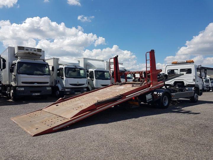 Camion porteur Mercedes Atego Dépanneuse 1223 NL - BESSE et AUPY à etage BLANC ET ROUGE Occasion - 4