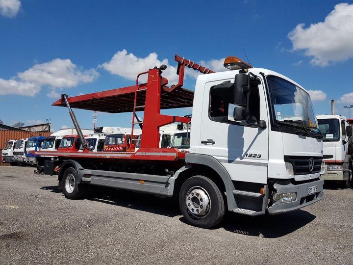 Camion porteur Mercedes Atego Dépanneuse 1223 NL - BESSE et AUPY à etage BLANC ET ROUGE Occasion - 5