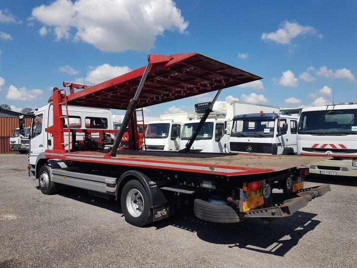 Camion porteur Mercedes Atego Dépanneuse 1223 NL - BESSE et AUPY à etage BLANC ET ROUGE Occasion - 6