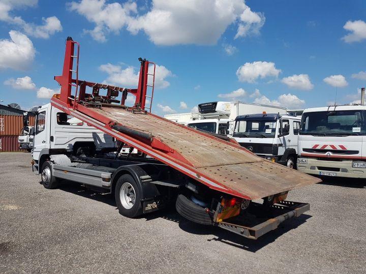 Camion porteur Mercedes Atego Dépanneuse 1223 NL - BESSE et AUPY à etage BLANC ET ROUGE Occasion - 7