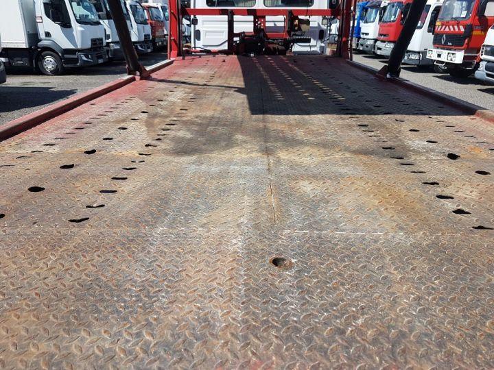 Camion porteur Mercedes Atego Dépanneuse 1223 NL - BESSE et AUPY à etage BLANC ET ROUGE Occasion - 9