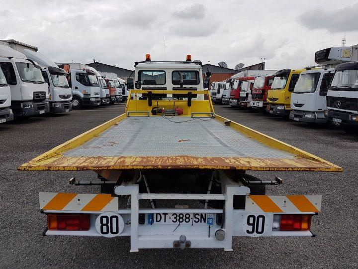 Camion porteur Renault Midliner Dépanneuse S120.07/A porte-voiture FIAULT + treuil BLANC - JAUNE - 8