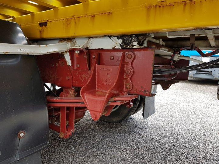 Camion porteur Renault Midliner Dépanneuse S120.07/A porte-voiture FIAULT + treuil BLANC - JAUNE - 19