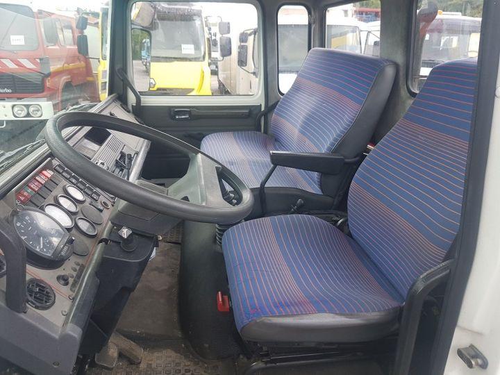 Camion porteur Renault Midliner Dépanneuse S120.07/A porte-voiture FIAULT + treuil BLANC - JAUNE - 20