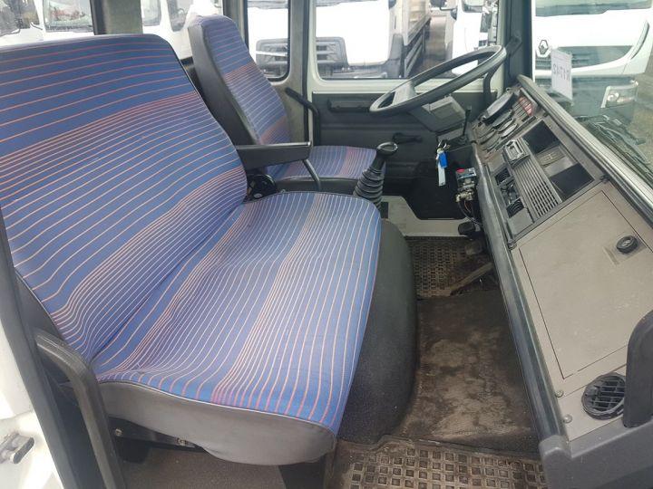 Camion porteur Renault Midliner Dépanneuse S120.07/A porte-voiture FIAULT + treuil BLANC - JAUNE - 21