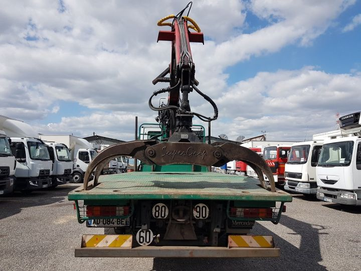Camion porteur Mercedes Actros Grumier 3351 KN 6x4 V8 + JONSERED 2490 BLANC - VERT - 9