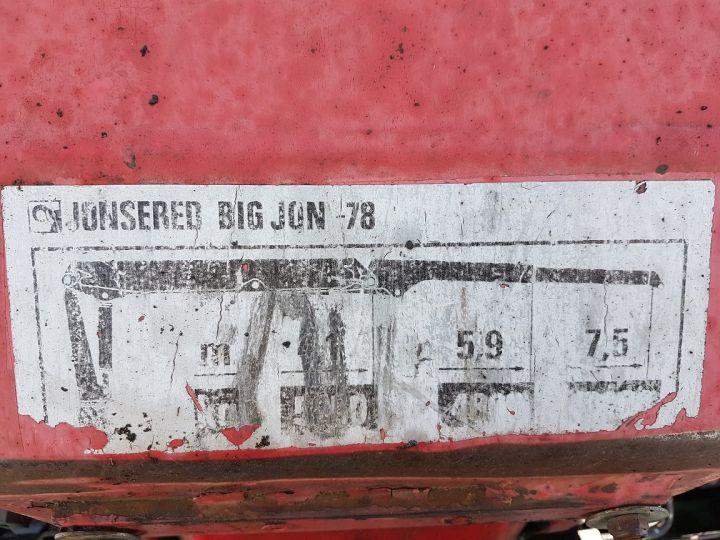 Camion porteur Mercedes Actros Grumier 3351 KN 6x4 V8 + JONSERED 2490 BLANC - VERT - 13