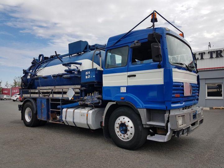 Camion porteur Renault Manager Hydrocureur G340ti.19 BLEU et BLANC - 5