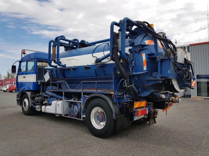 Camion porteur Renault Manager Hydrocureur G340ti.19 BLEU et BLANC - 6