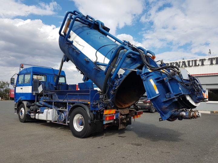 Camion porteur Renault Manager Hydrocureur G340ti.19 BLEU et BLANC - 7