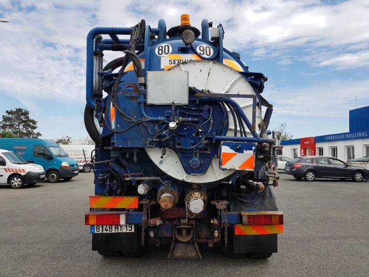 Camion porteur Renault Manager Hydrocureur G340ti.19 BLEU et BLANC - 8