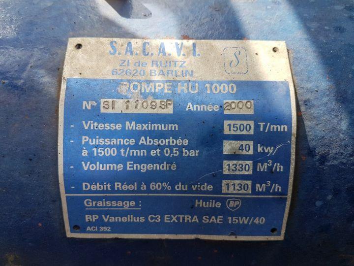 Camion porteur Renault Manager Hydrocureur G340ti.19 BLEU et BLANC - 17